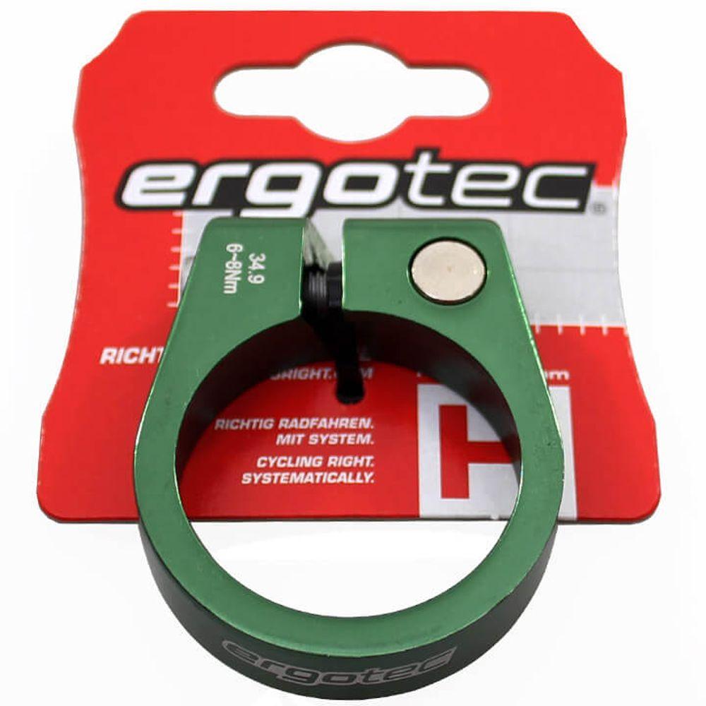 Ergotec zadelpenklem SCI-105 34,9 groen geeloxeerd