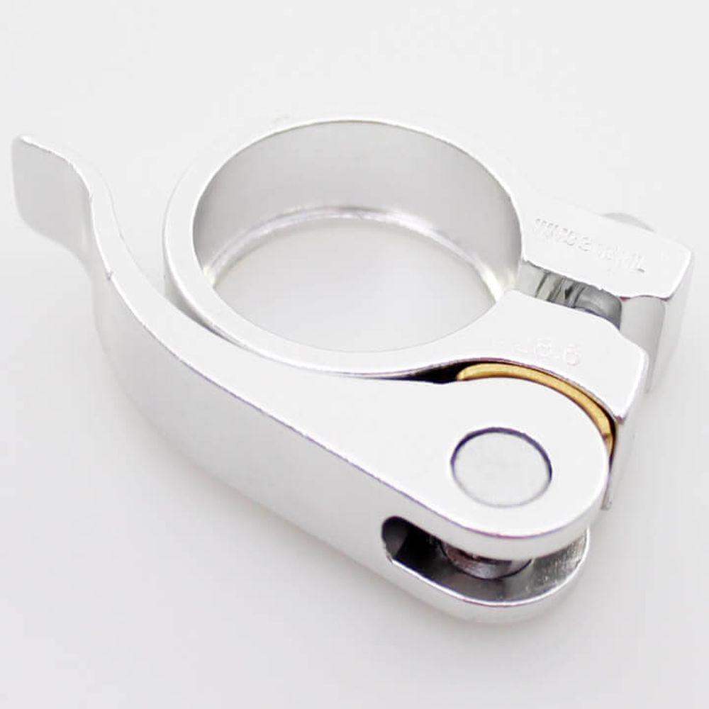 Ergotec zadelpenklem SCQ-030 28,6 zilver