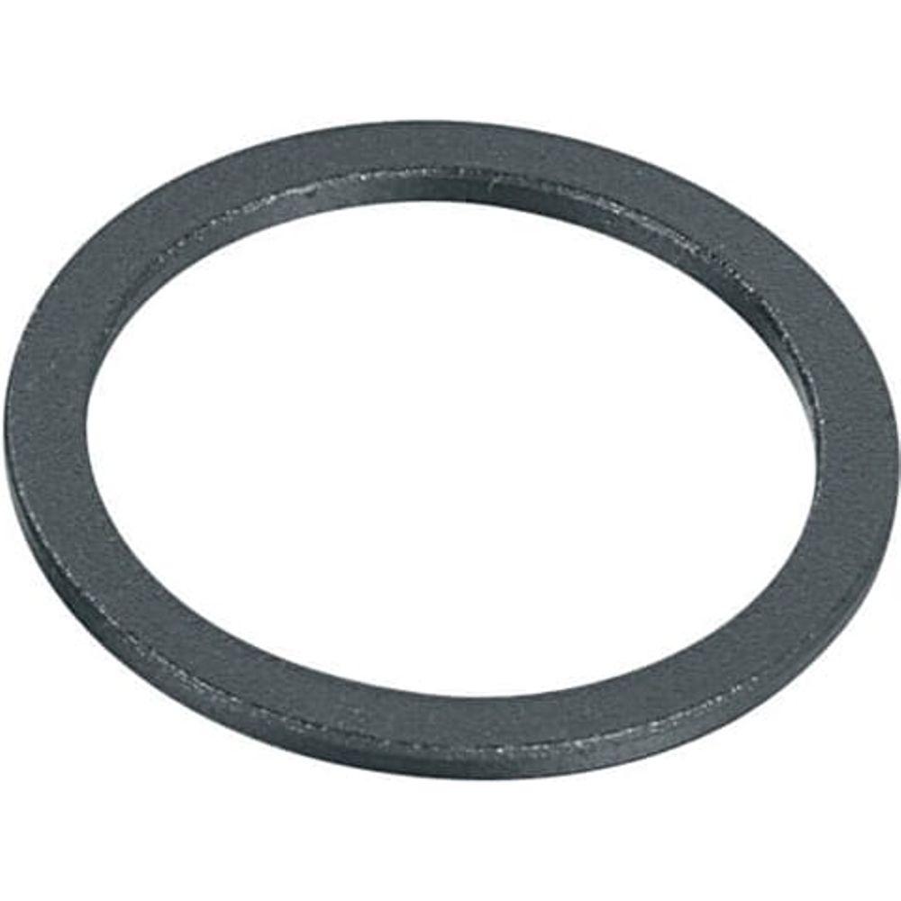 Ergotec spacer 1 1/8 2mm zwart zand