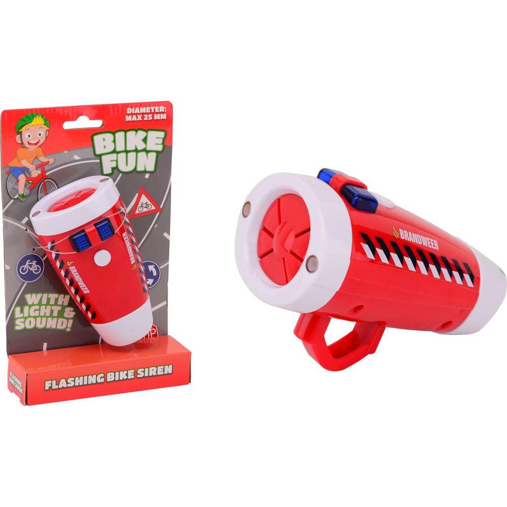 Bike Fun Brandweer sirene met Fietslamp