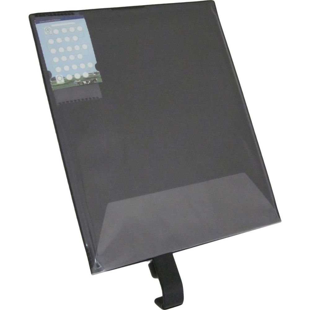Steco kaarthouder kaart-mee izi mat zwart a4