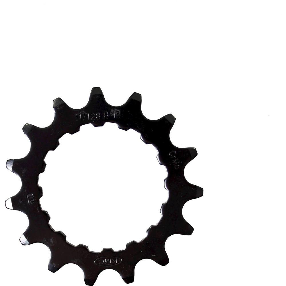Kmc tandwiel voor bosch 15t cro-mo staal zwart 11/