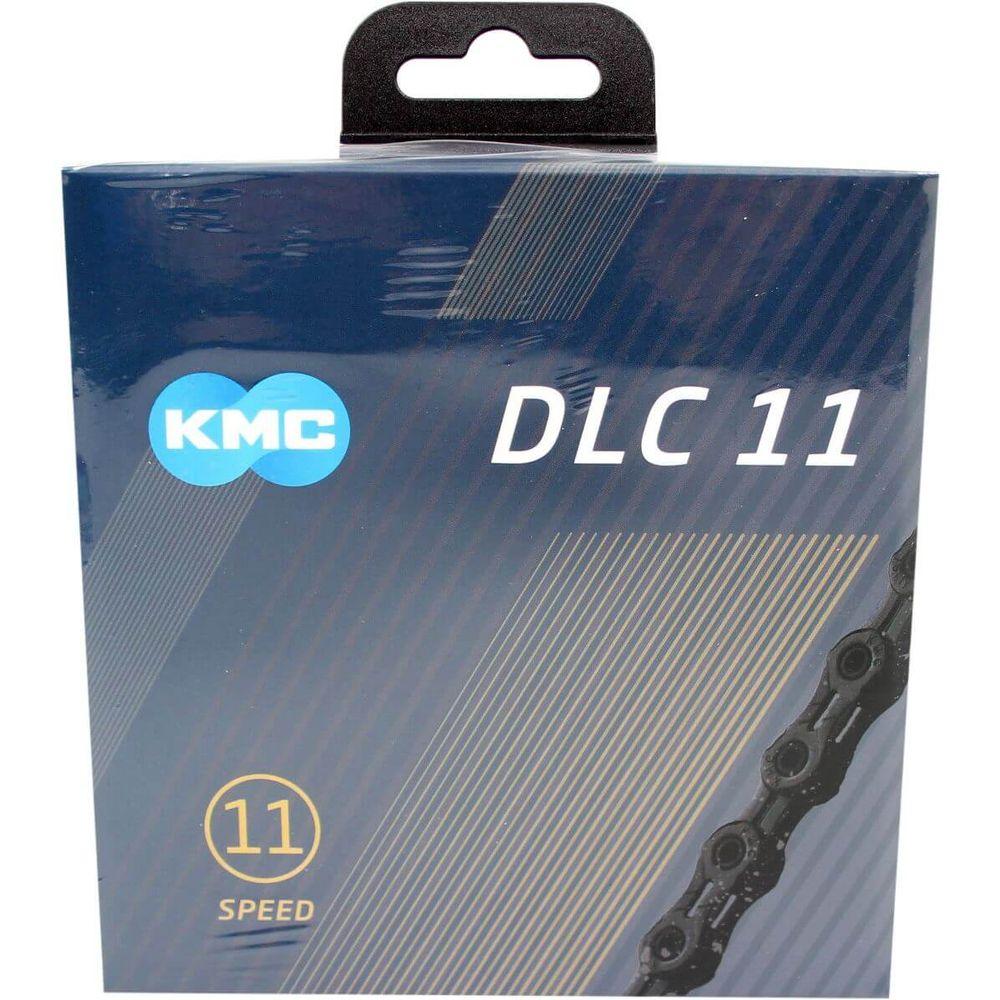 Kmc ketting 11-speed dlc 11 118 links zwart