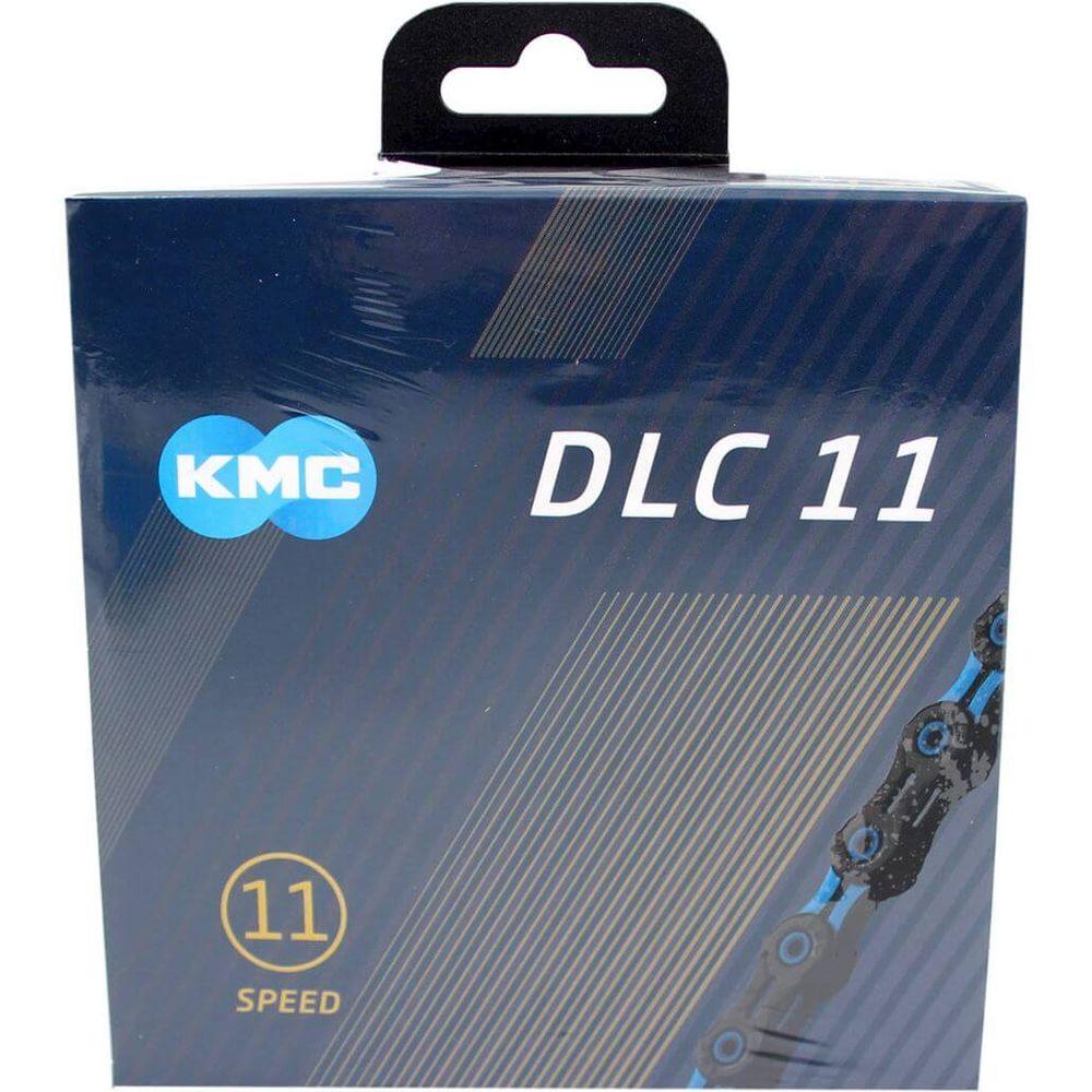 Kmc ketting 11-speed dlc 11 118 links zwart/blauw
