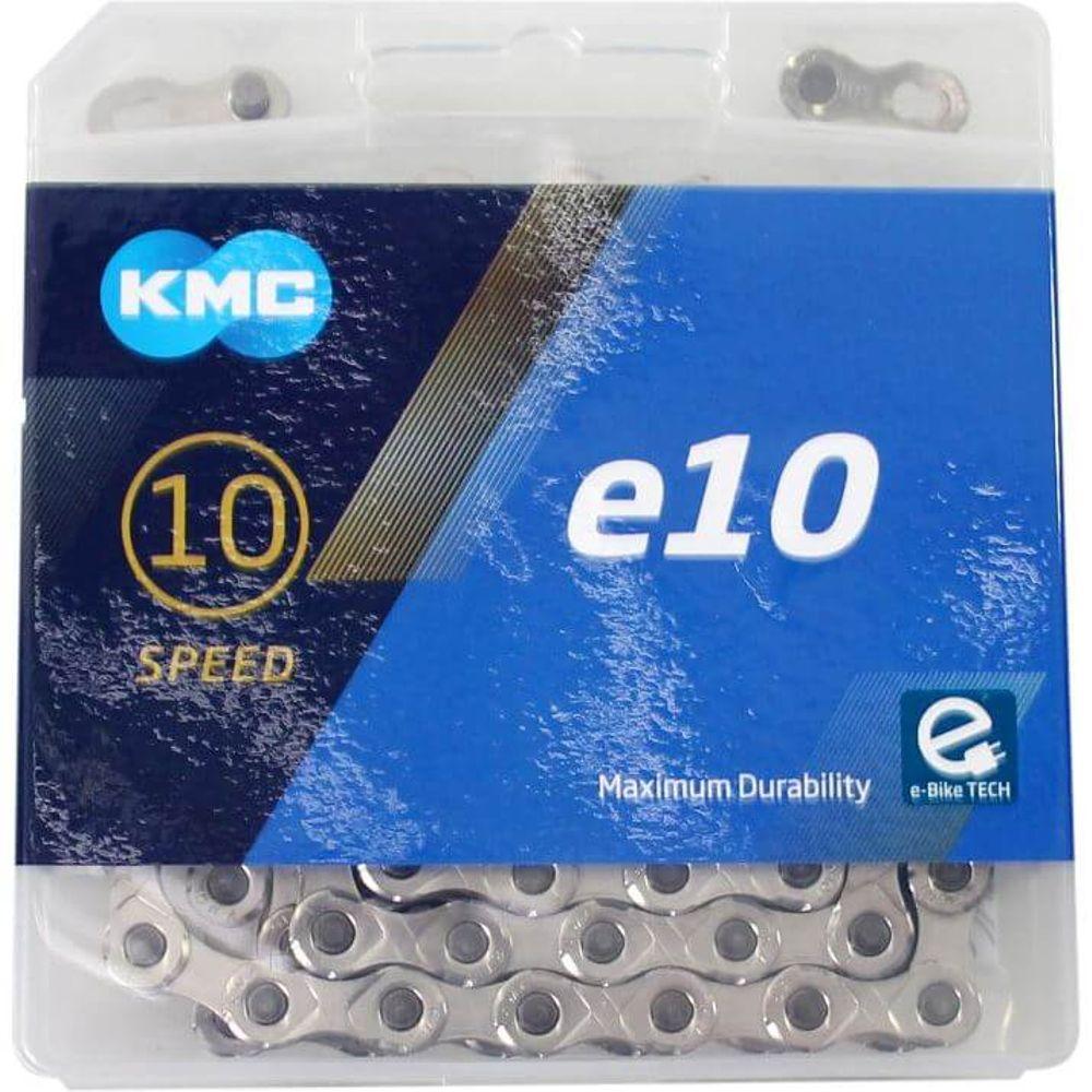 Kmc ketting e-bike 10-speed 122 links e10 zilver
