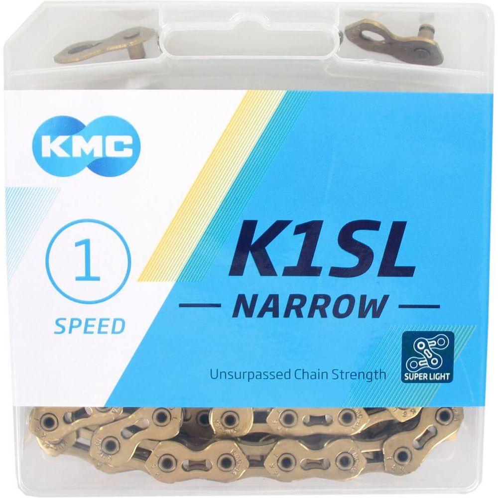 Kmc ketting singlespeed k1sl 100l 1/2x3/32 narrow