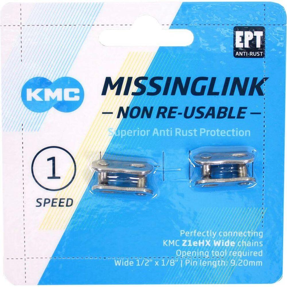Kmc kettingschakel singlespeed m-link z1ehx 1/2x1/