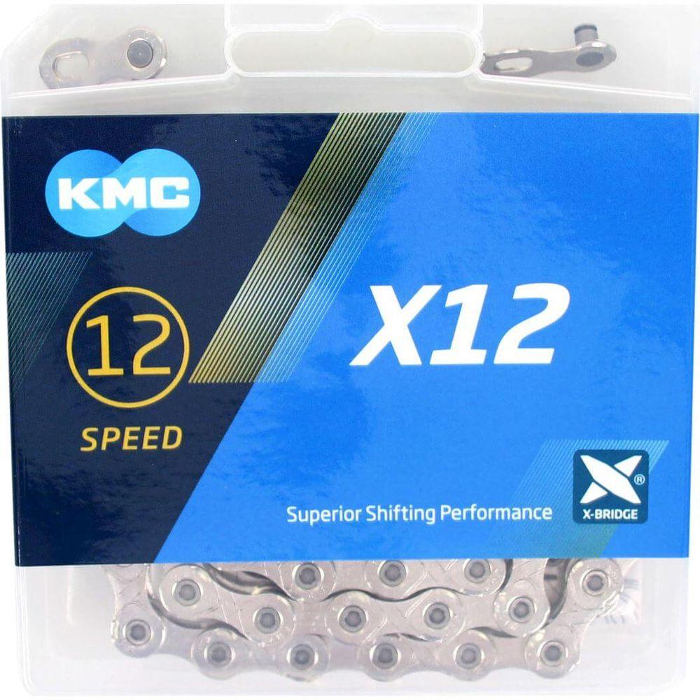 Kmc ketting 12-speed x12 126 links zilver