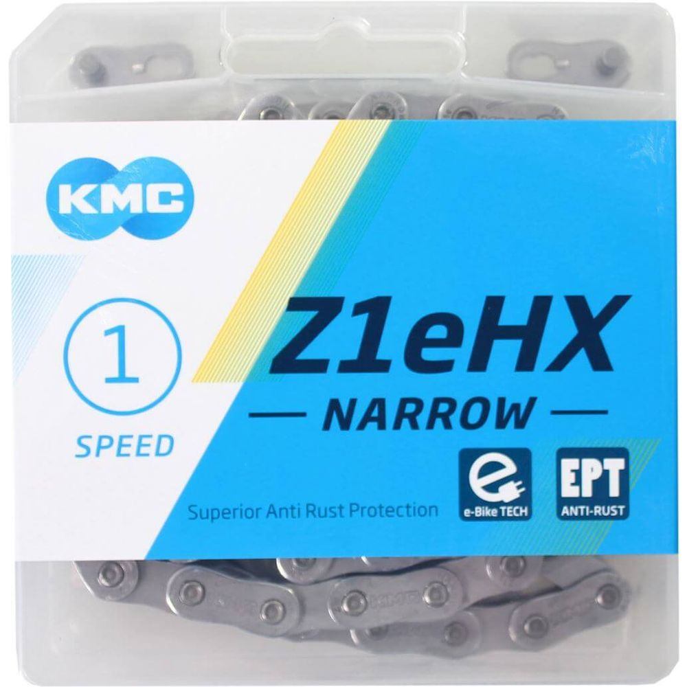 Kmc ketting e-bike singlespeed 112l z1ehx 1/2x3/32