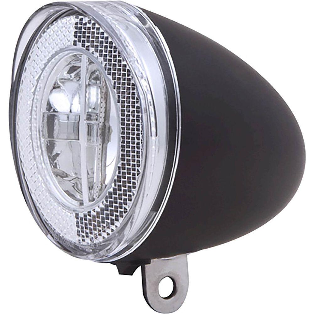 Spanninga voorlicht swingo xb zwart batterij inclusief