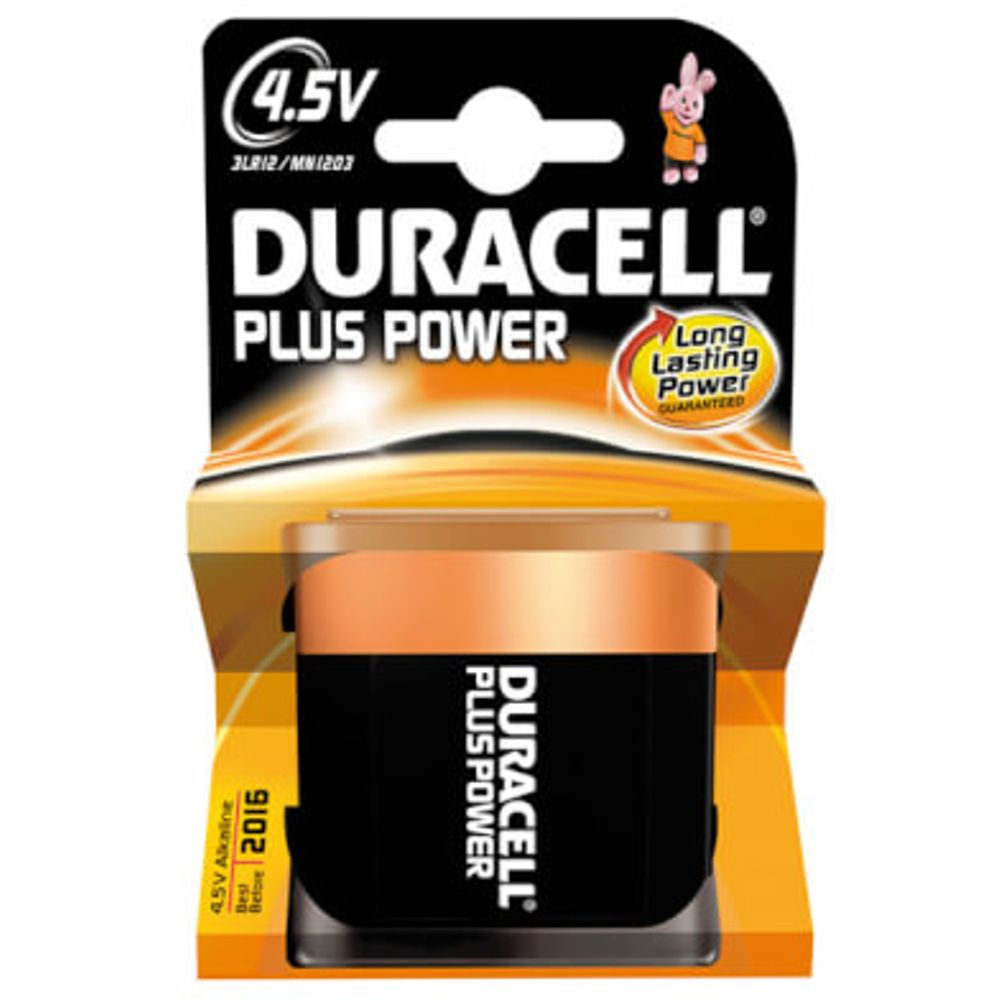 Duracell batterij plus power 4,5v (1)
