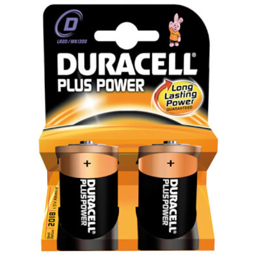 Duracell batterij plus power lr20 donker (2)