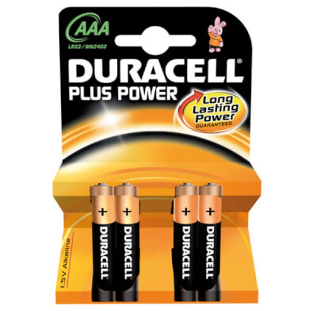 Duracell batt Plus Power LR3 AAA