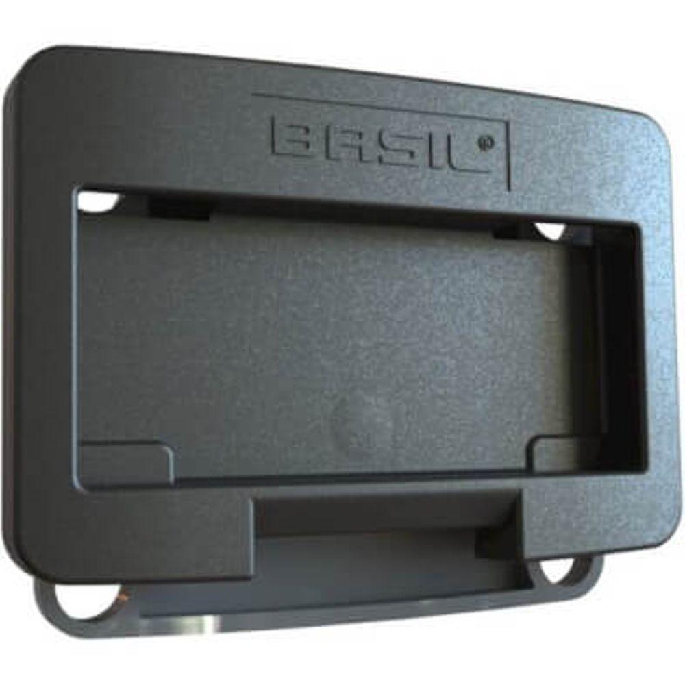Basil Adapterplaat Voor Klickfix Zwart