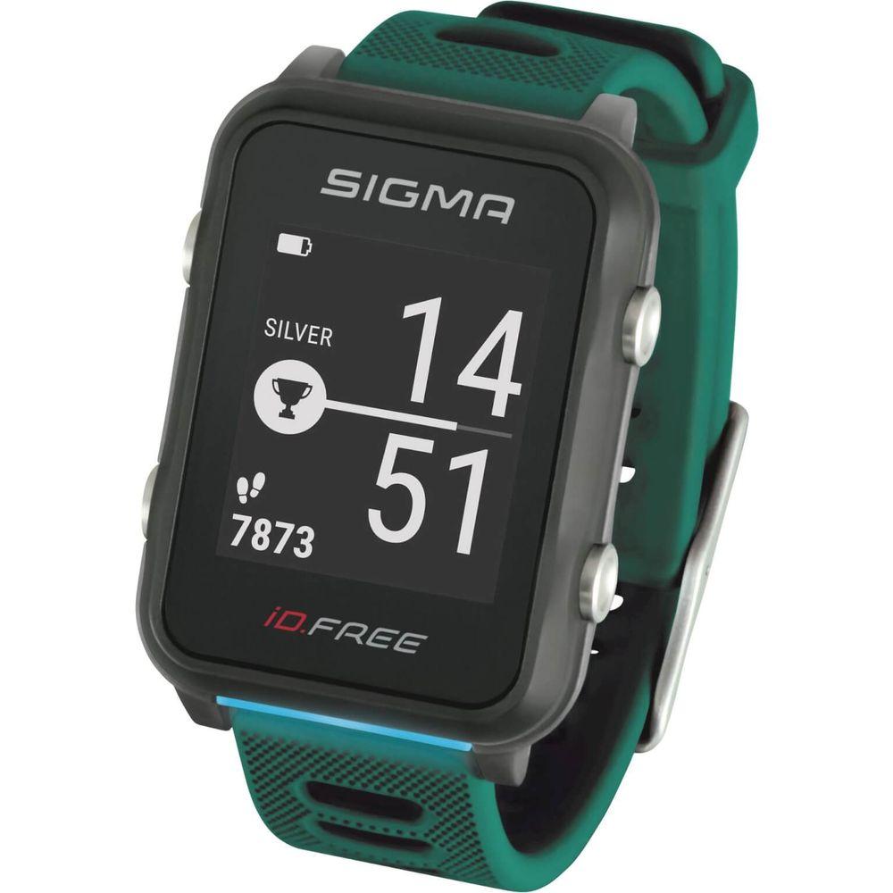 Sigma sporthorloge id.free green