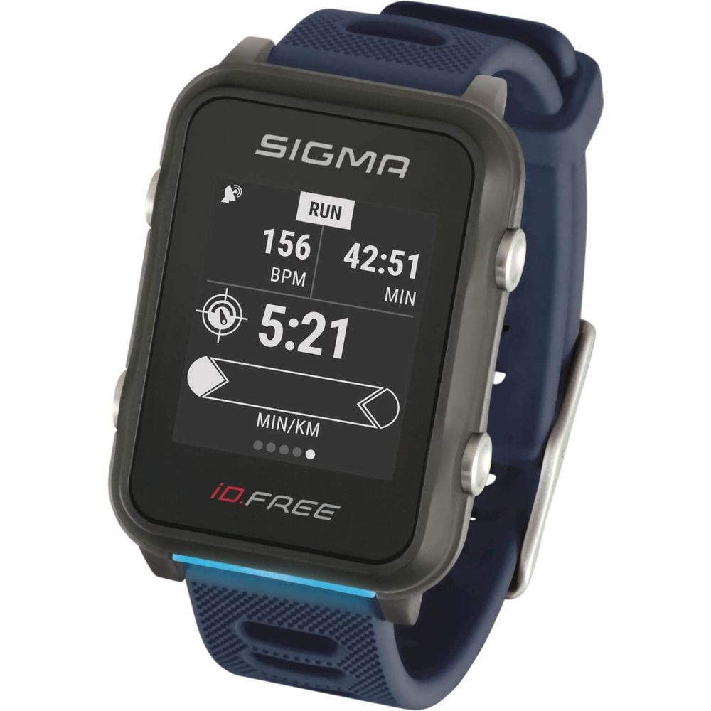 Sigma sporthorloge id.free blue