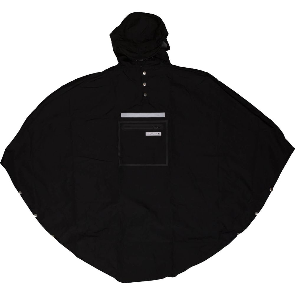 People's Poncho black volw