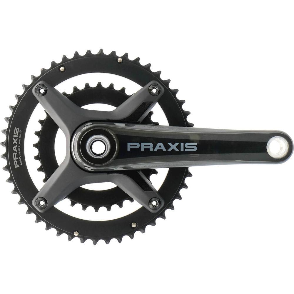 Praxis crankstel Zayante Carbon-S M30 X 165 48/32T