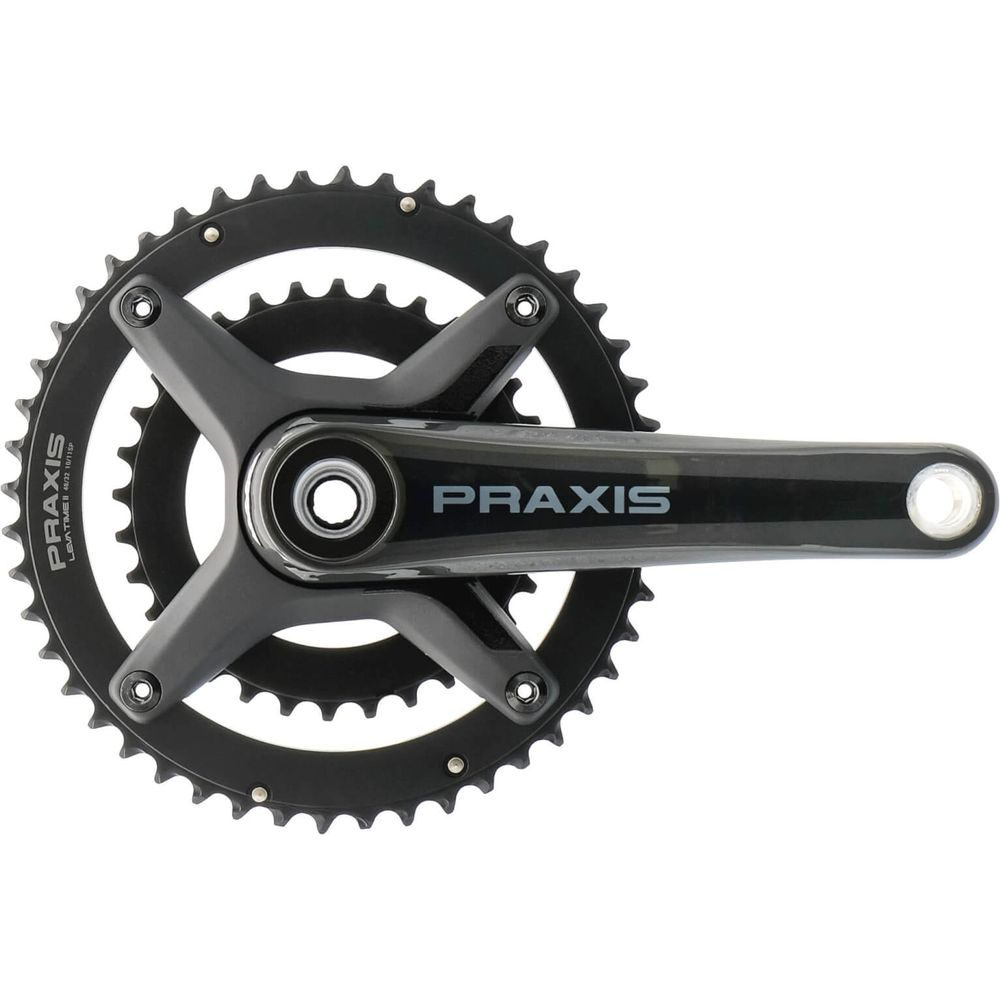Praxis crankstel Zayante Carbon-S M30 X 170 52/36T