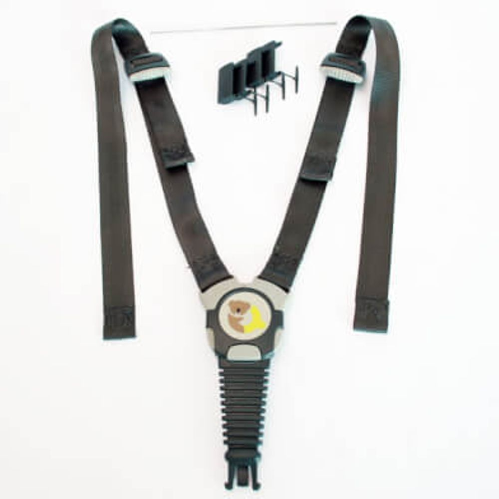 Duodl qibbel gordelsysteem inclusief gordelhouder