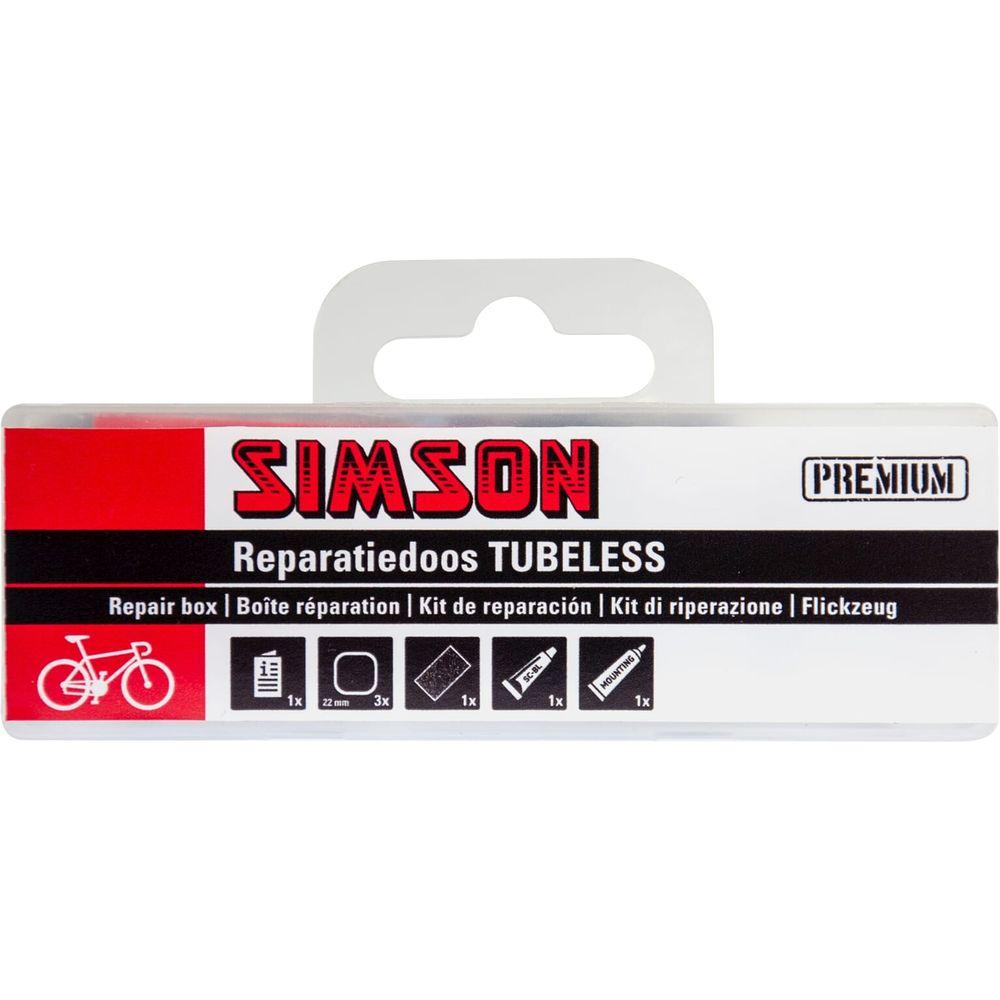 Simson reparatiedoos tubeless