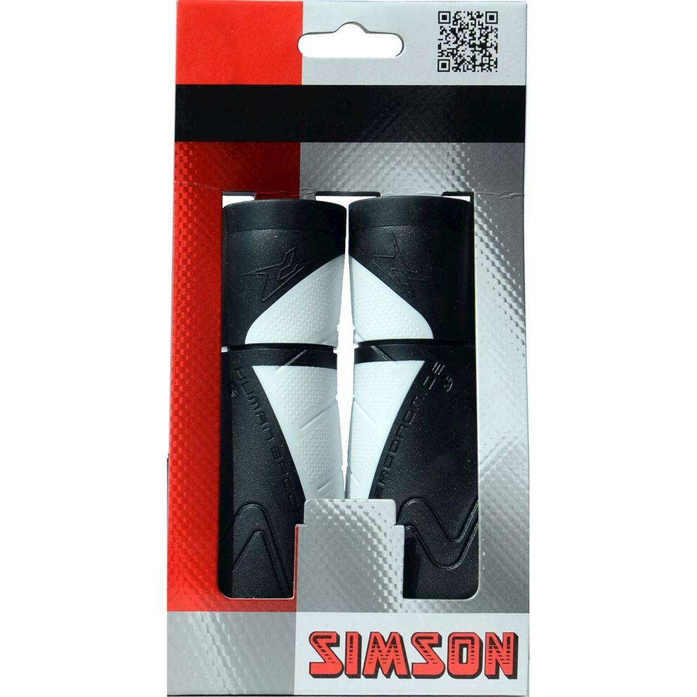 Simson Handvatten Ergonomisch - zwart/wit