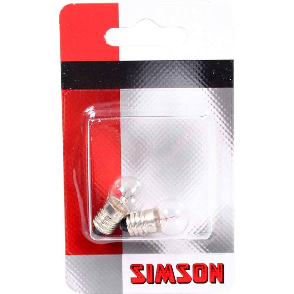 DA0703ASimson Fietslampjes Voor. 2 stuks