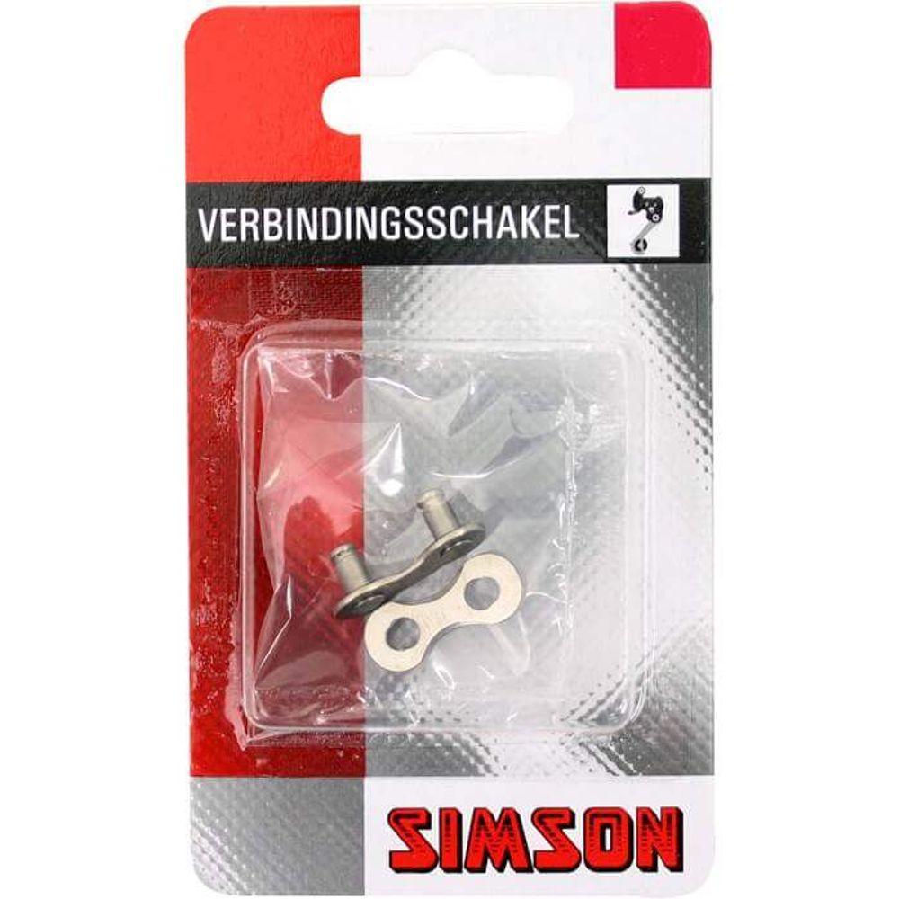 Simson kettingschakel 5/6/7 speed maat 1/2