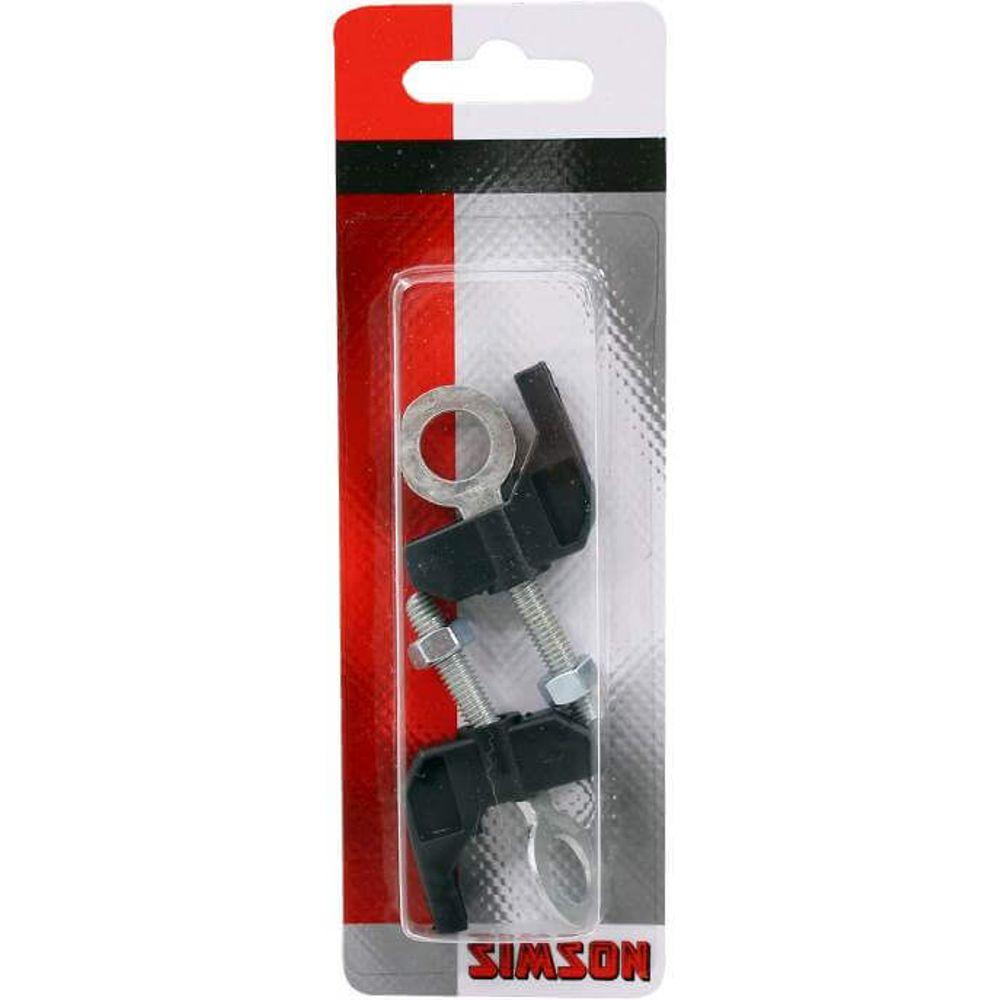 Simson kettingspanners gazelle zilver/zwart (2)