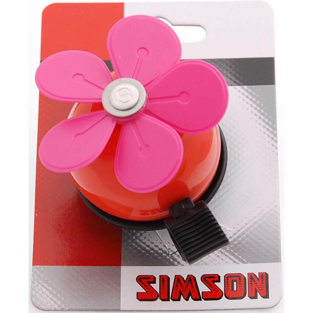 DB0901A Simson Bel BLOEM rood-roze