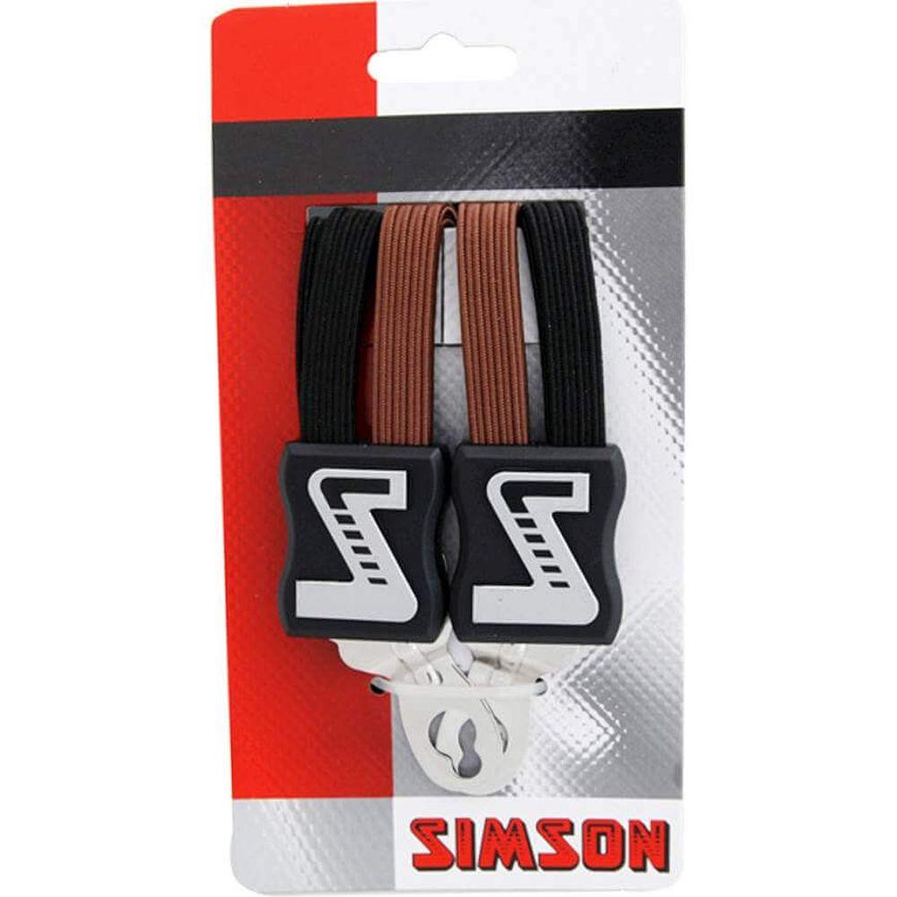 Simson Snelbinder Extra Sterk zwart-bruin