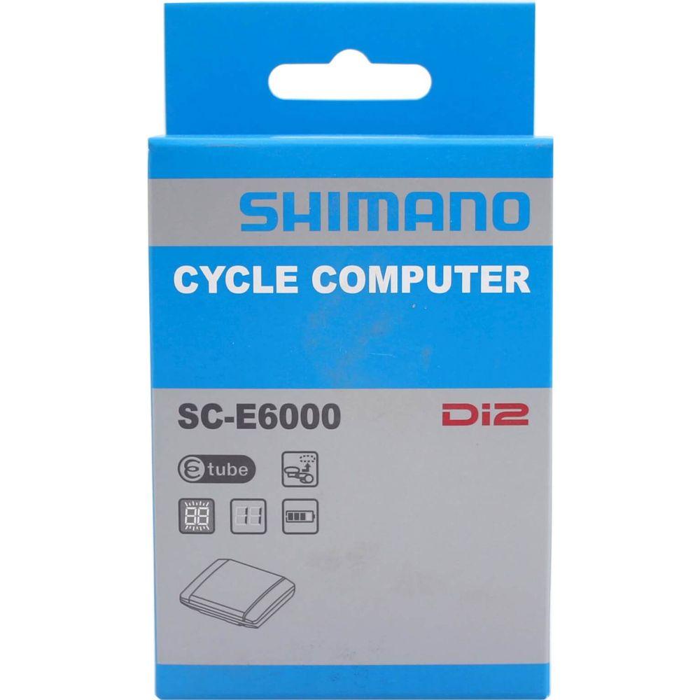 Fiets Computer Shimano Steps SC+AC0-E6000 Display