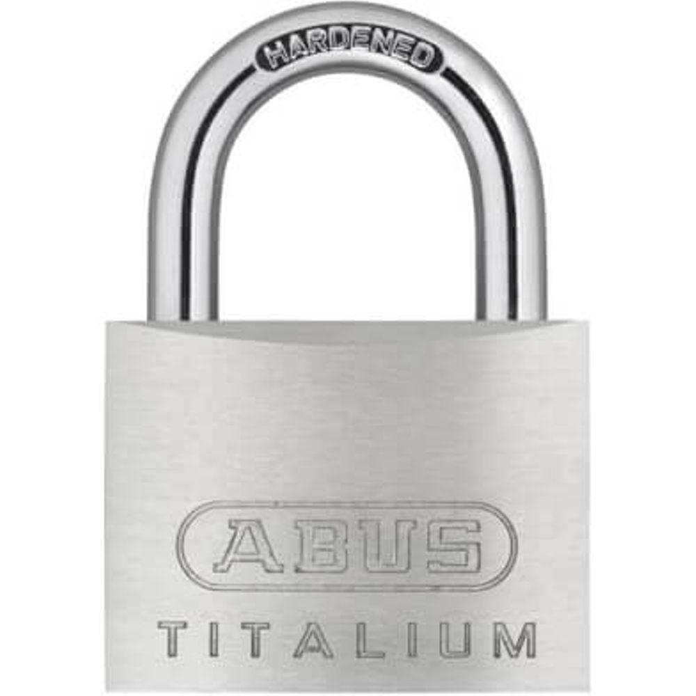 Abus hangslot titalium 64ti/50 50x77x 17mm