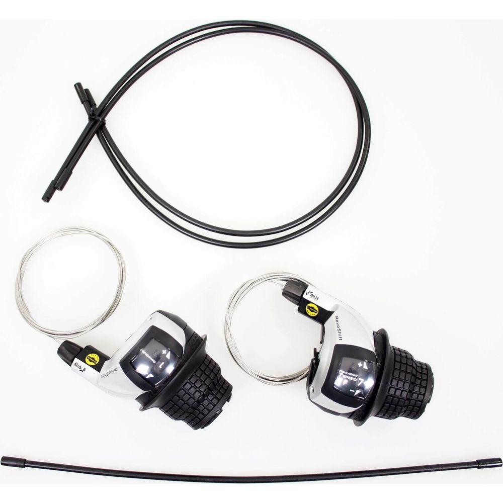 Revo Shifter Set Tourney RS45 7-Sp Triple M/Kabels