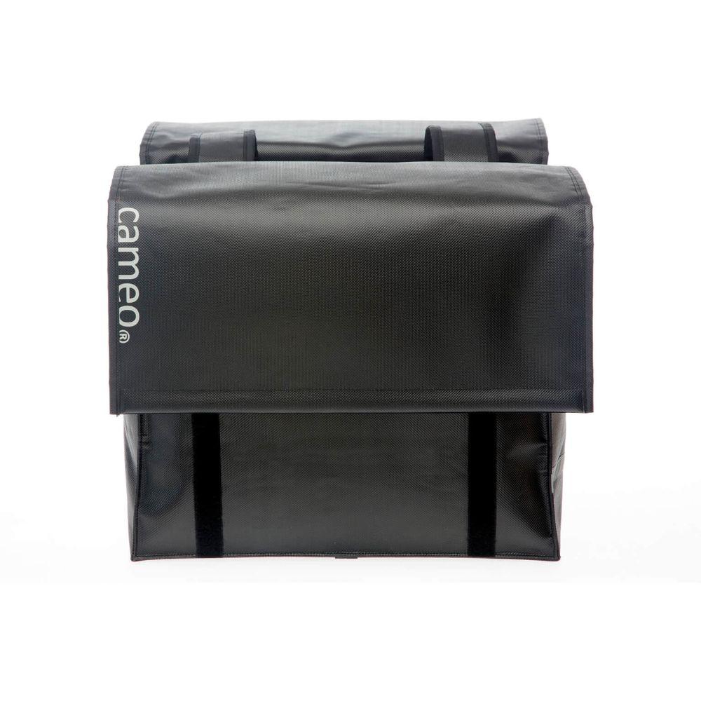Dubbele tas New Looxs Bisonyl 46 liter - zwart