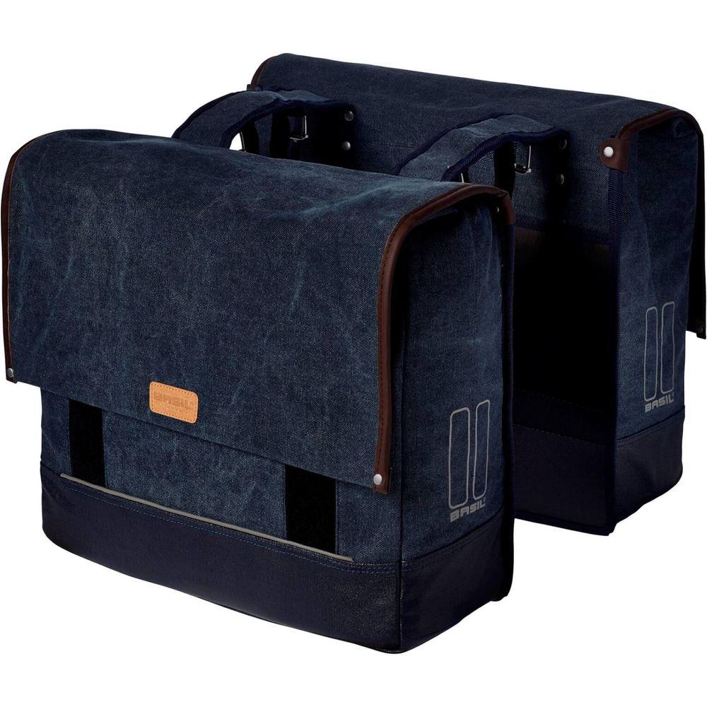 Basil Bicycle Bag Urban Fold Double Bag 42/55L Den