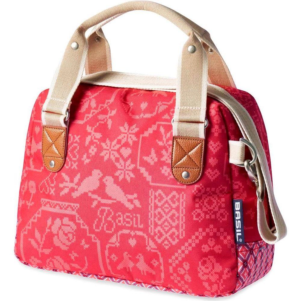 Stuurtas Bohème City Bag - 8ltr. - vintage red
