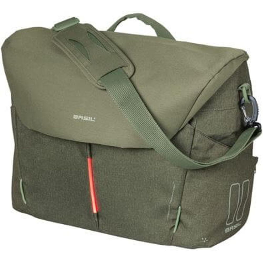 Basil laptop tas B-Safe Commuter Nordlicht olive groen