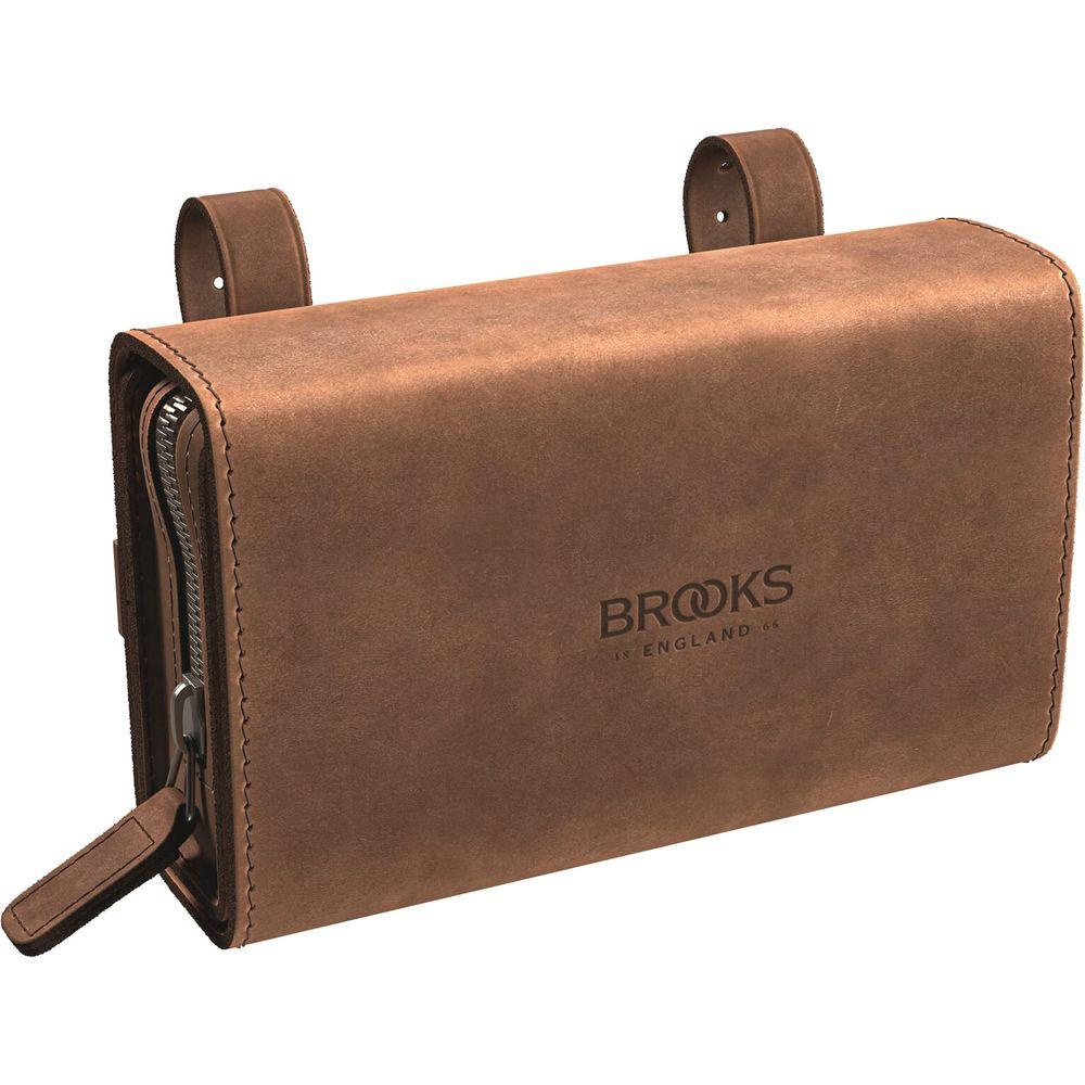 Brooks zadeltas D-Shaped Aged brown