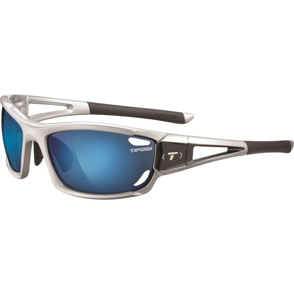 Tifosi bril Dolomite 2.0 met. zilver clarion blauw