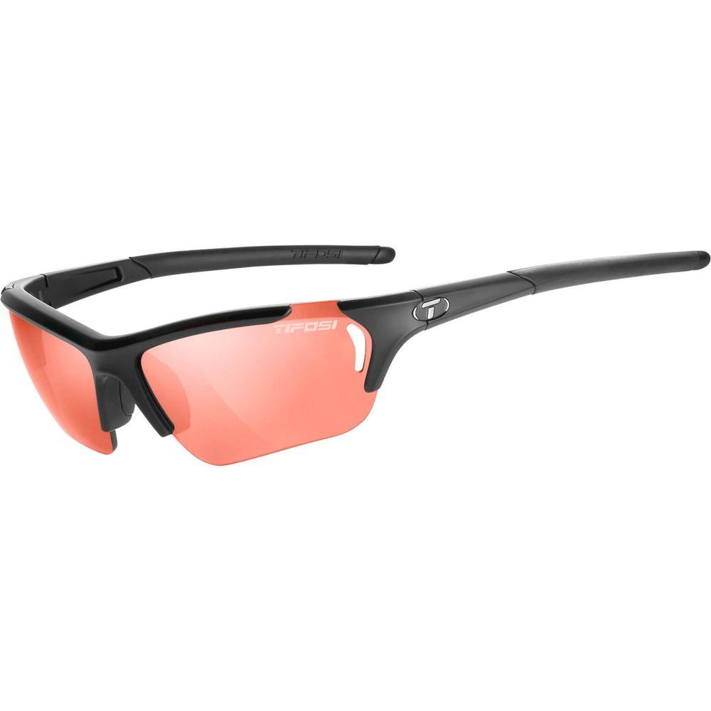 Tifosi bril Radius FC mat zwart fototec rood