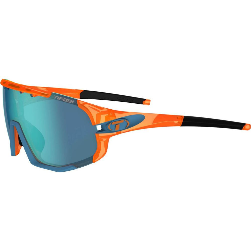 Tifosi bril Sledge crystal oranje
