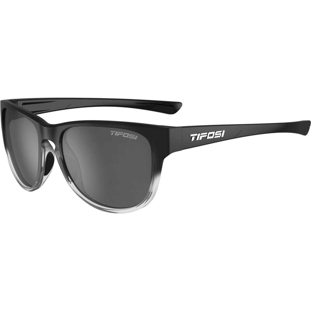 Tifosi bril Smoove gloss zwart-transparant