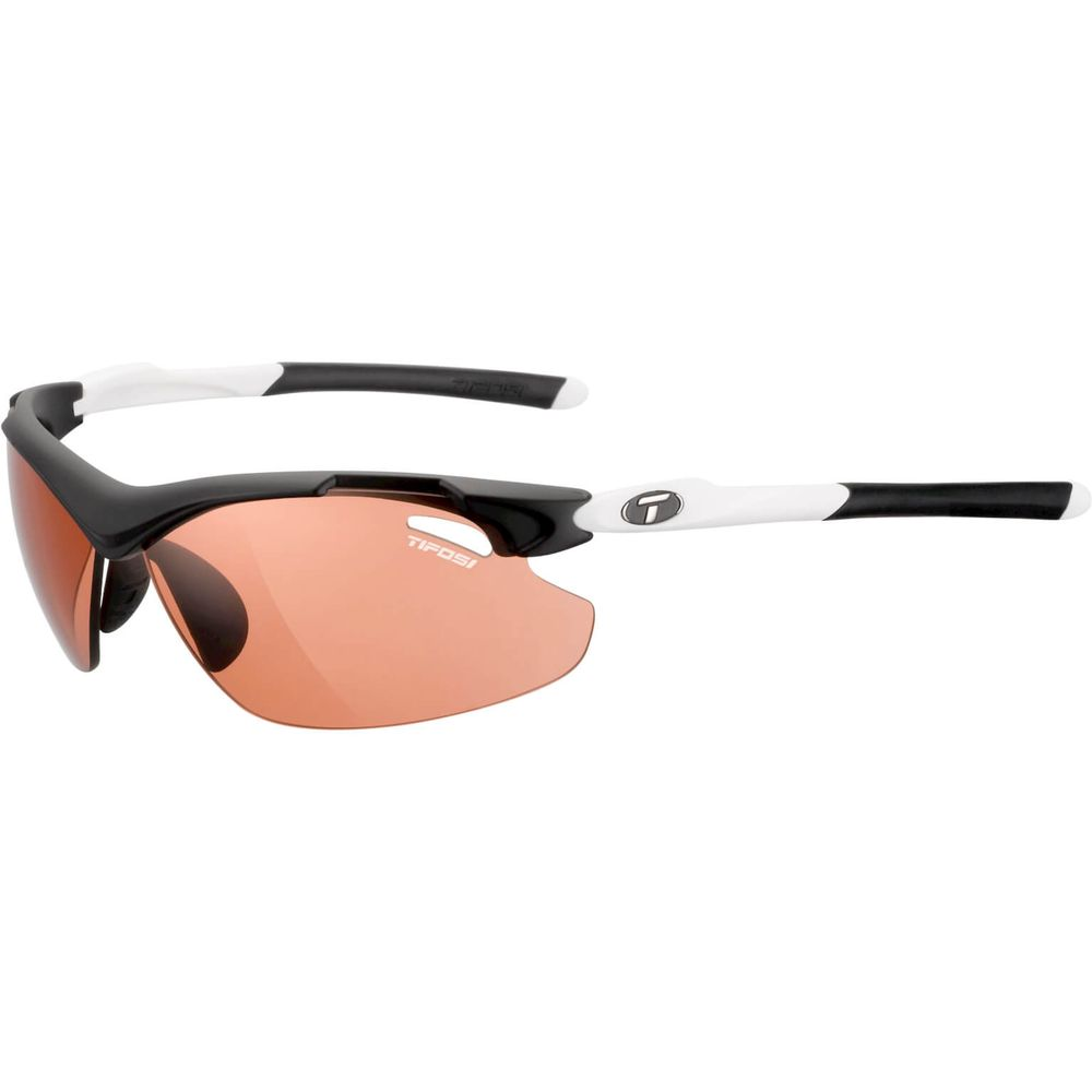 Tifosi bril Tyrant 2.0 zwart/wit fototec rood