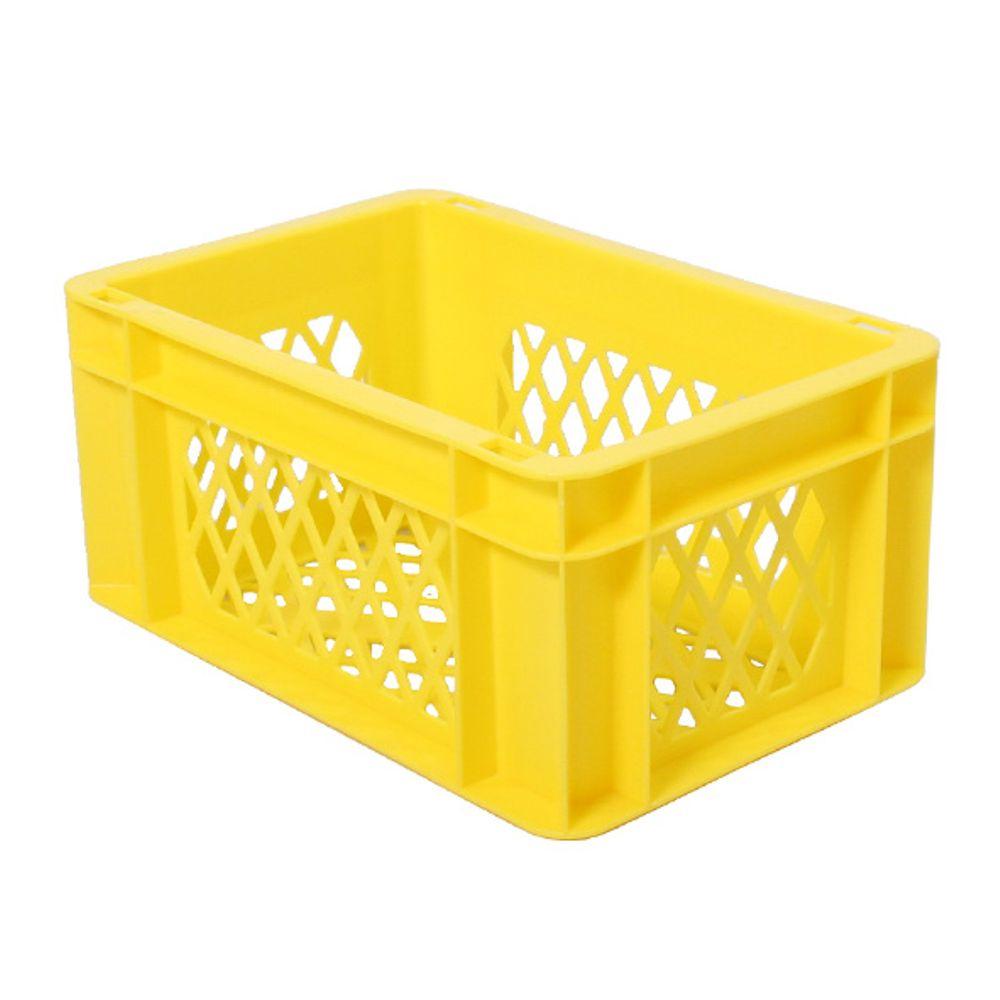 transport bagage krat mini geel
