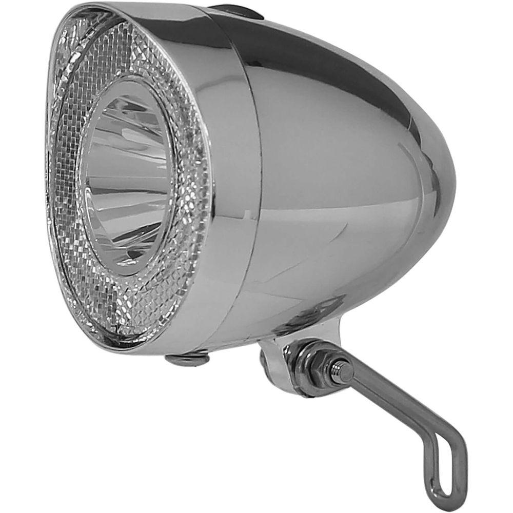 Union koplamp UN-4915 Retro batterij 20 lux chroom op kaart