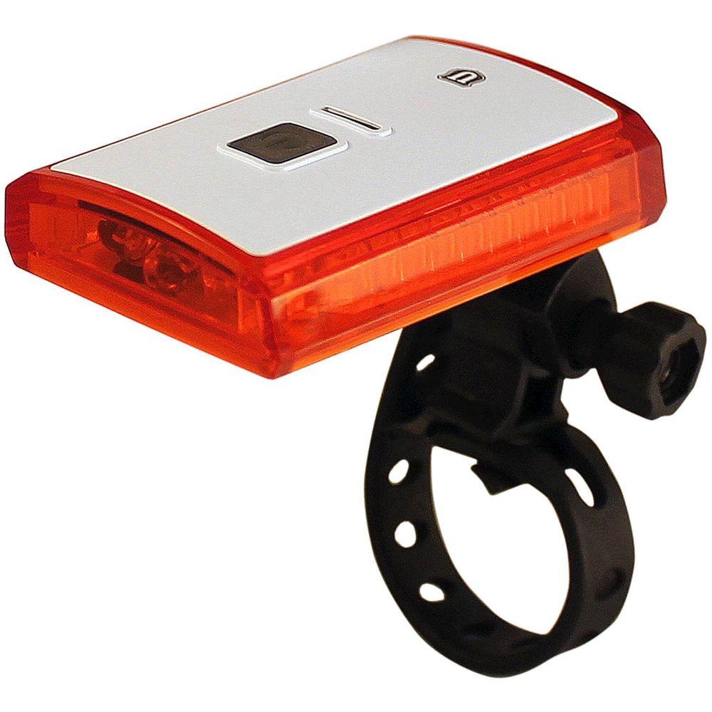 Lamp a led un-110 wit 3 led rood usb oplaadbaar