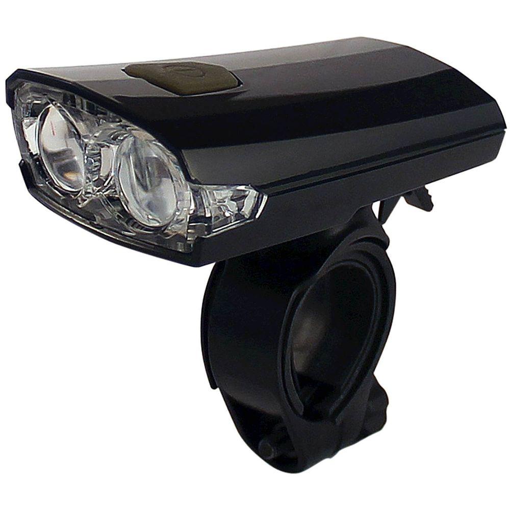 Lamp v led un-160 zwart 2 led wit 4 lux usb oplaad