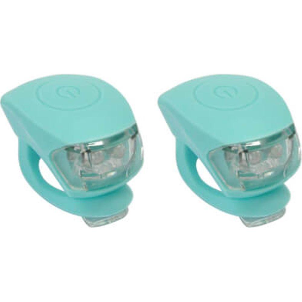 UP Siliconen LED Fietslampjes set Oceaan Blauw