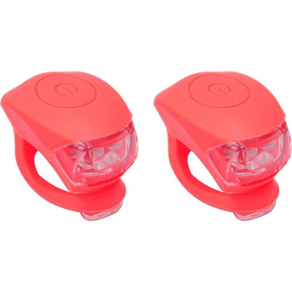 Urban Proof verlichtingsset Siliconen batterij koraal roze